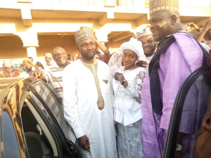 PHOTOS: Plateau lawmaker surprises aide with brand new car and N10m cash at wedding