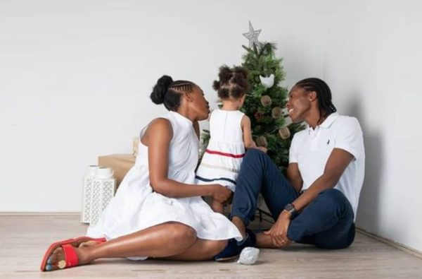 Caster Semenya celebrates her 30th birthday and 3rd wedding anniversary