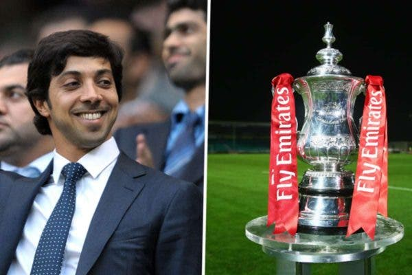 Manchester City owner buys historic FA Cup trophy at auction