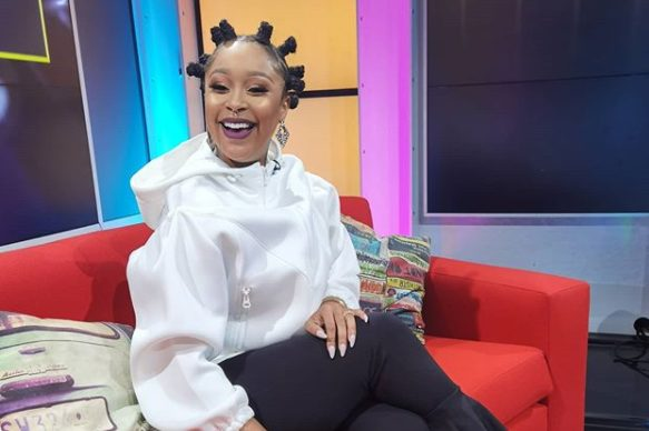 Minnie Dlamini shares epic throwback picture of herself with her friend