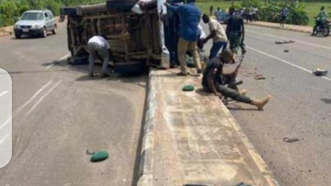 Unknown driver crushes pedestrian to death in Anambra