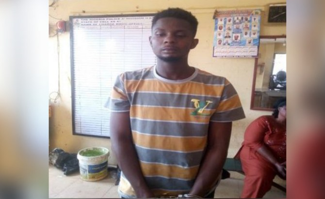21-yr-old undergraduate arrested for internet fraud in Osun