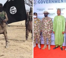 Suspected Boko Haram members kills 2 policemen, abducts 2 during Service Chiefs' maiden visit to Borno