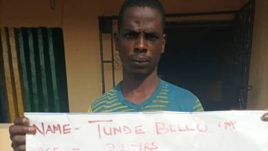 32-year-old man arrested for abducting woman, raping and demanding ransom in Ogun
