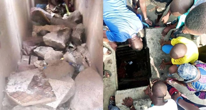 Residents Discover Kidnappers' Tunnel In Lagos, Beat Suspect To Death