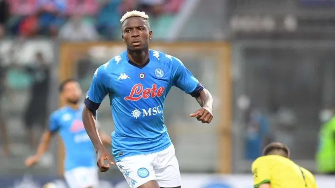 COVID-19: Napoli gives update on Osimhen's health