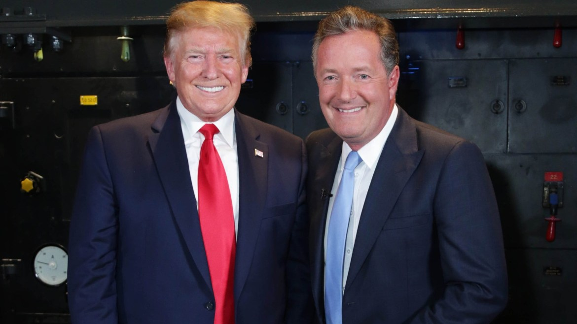 'Shame on you', says Piers Morgan as he blasts Donald Trump on his final day as the US President