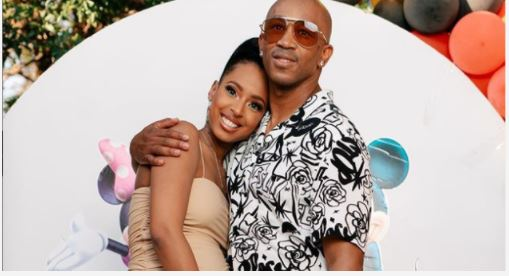 Theo Kgosinkwe and Vourné welcome baby girl