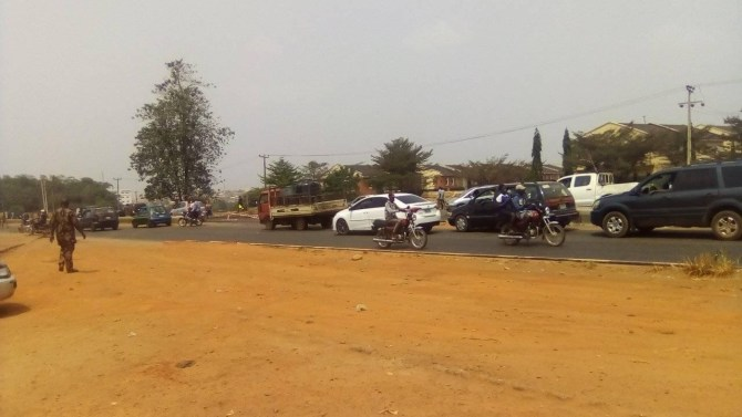 PHOTOS: Tension in Ogun as suspected smugglers, customs officers engage in bloody clash