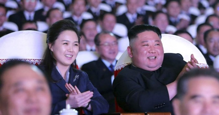 PHOTOS: Kim Jong-un's wife reappears in public after 'vanishing' for more than a year