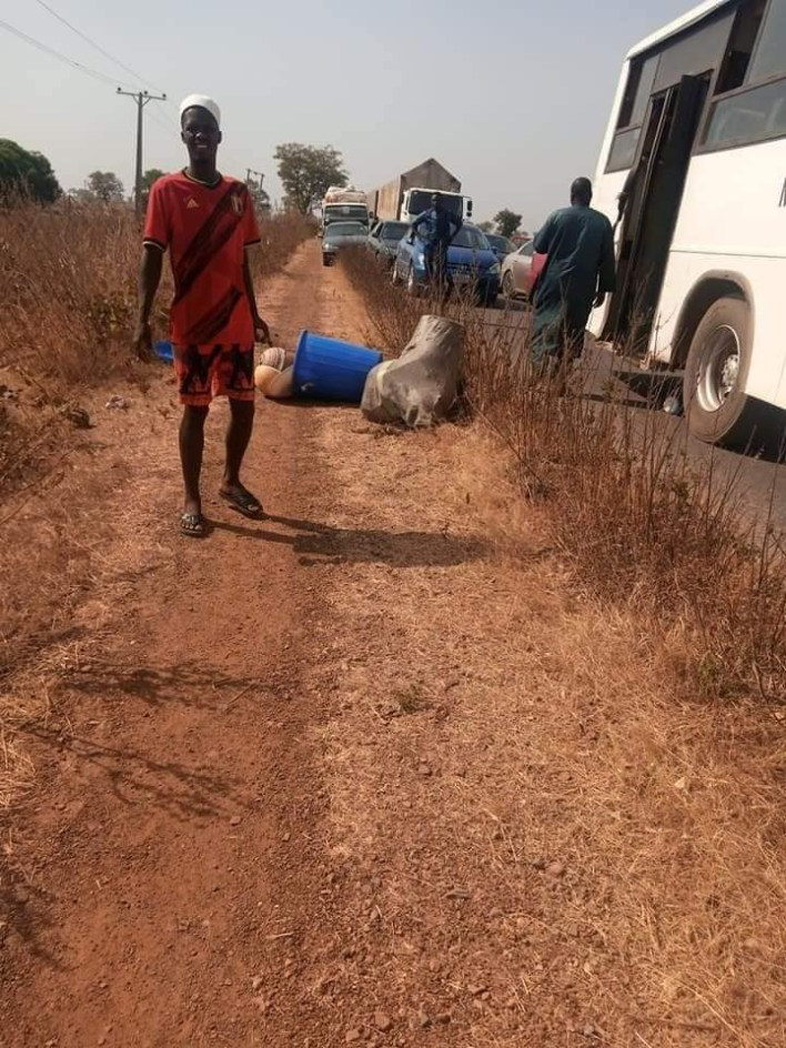 PHOTOS: 18 passengers including groomsmen abducted by armed bandits in Niger