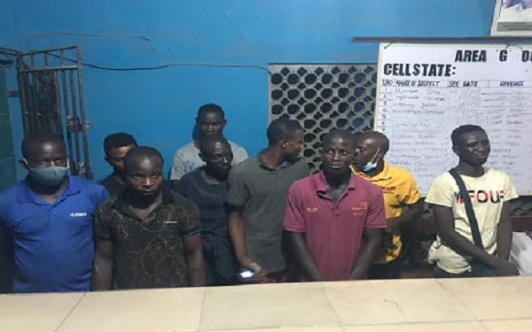 27 suspected cultists arrested in Lagos