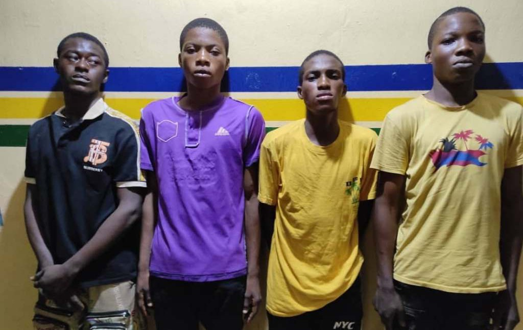 Police arrest 4 for gang-raping teenager in Lagos