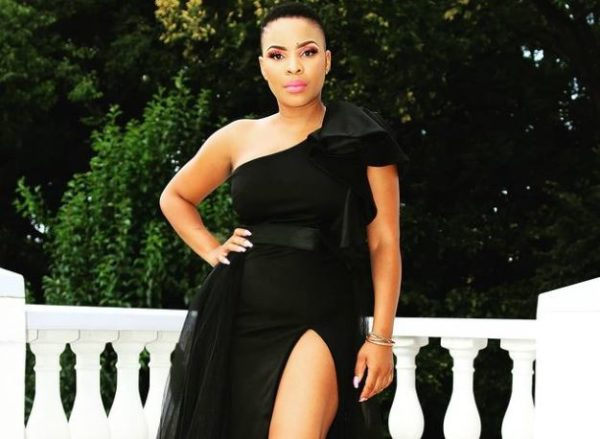 Masechaba Khumalo slams critics questioning her decision for sharing snaps as she performs traditional rituals