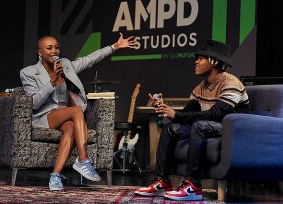 Moozlie expresses excitement being part of Nasty C's podcast