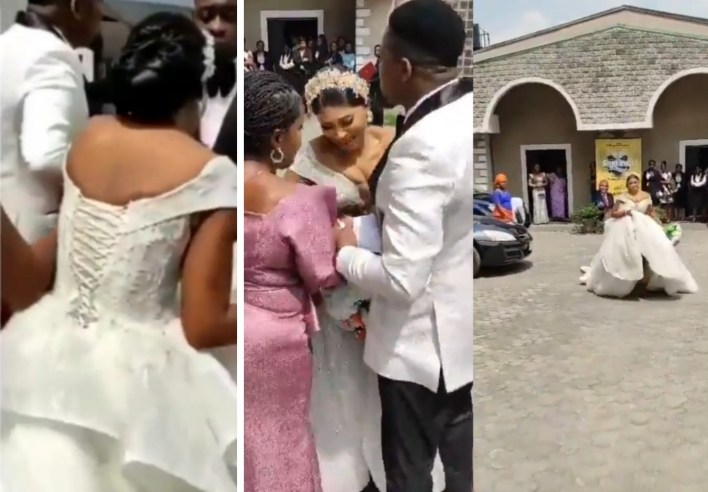 TRENDING: Drama, tears as pastor refuses to wed couple for arriving 5 minutes late (VIDEO)