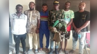 Six fake soldiers arrested in Delta