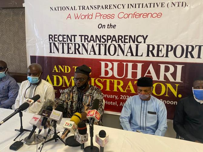 TI Report: Group accuses Transparency International, local NGOs of smear campaign to tarnish Buhari's image