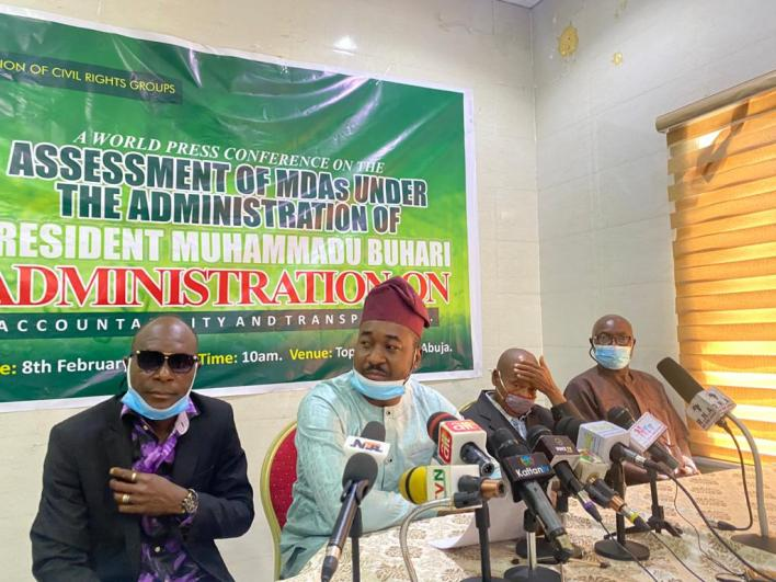 Group lauds MDAs' accountability, probity under PMB's administration
