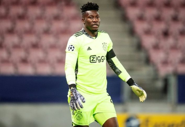Ajax goalkeeper, Andre Onana handed 12-month suspension for failing doping test