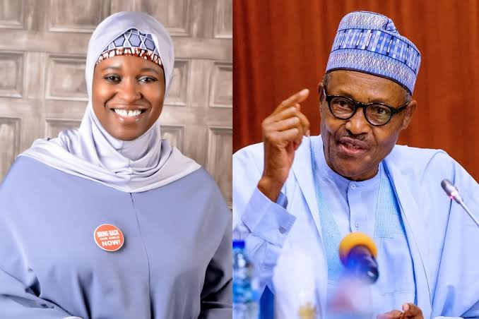 Insecurity: Your body language emboldens terrorists, Aisha Yesufu tells President Buhari
