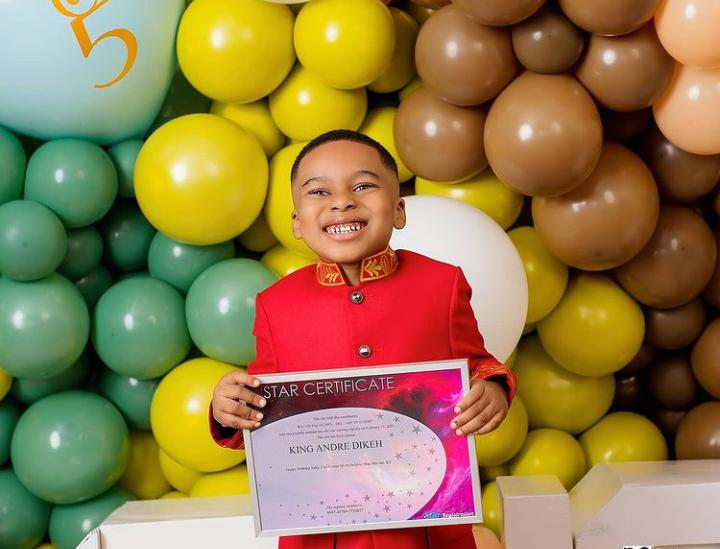 How I spent millions to buy a star for my son – Tonto Dikeh speaks about her son, Andre's birthday gift