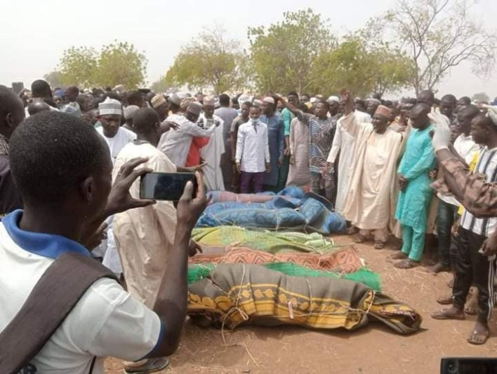 PHOTOS: Bandits kidnap wealthy businessman, kill 10 in Sokoto village