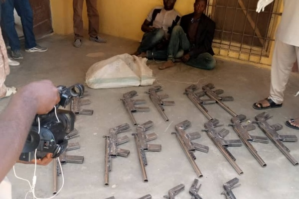 PHOTOS: NDLEA recovers 27 rifles from two criminals in Niger