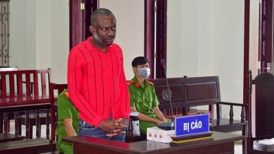 Nigerian man sentenced to death in Vietnam for drug trafficking