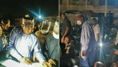 PHOTOS: Fake Internally Displaced Persons discovered in Borno camp