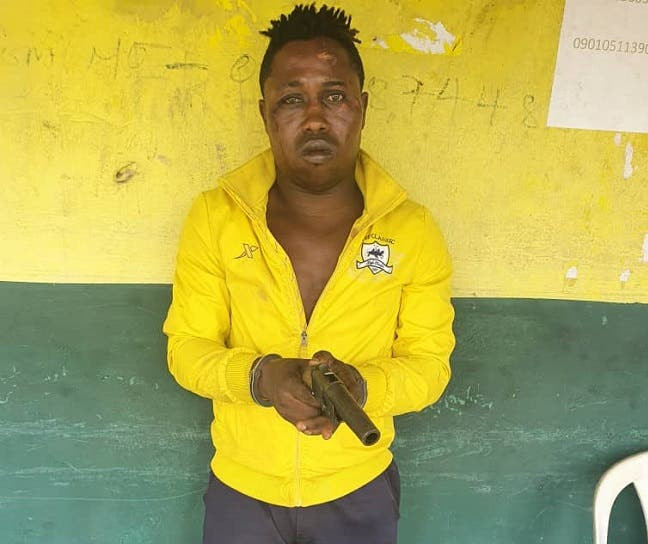 Ex-convict re-arrested for armed robbery in Lagos 4 months after his release from prison