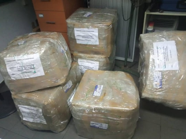 PHOTOS: NDLEA intercepts 650g of cocaine concealed in herbal concoction, dry pepper