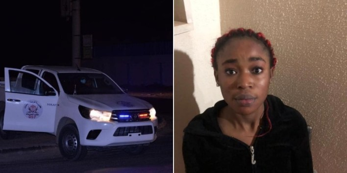 PHOTO: Libyan police arrest Nigerian national for allegedly stealing over N3m from her employer