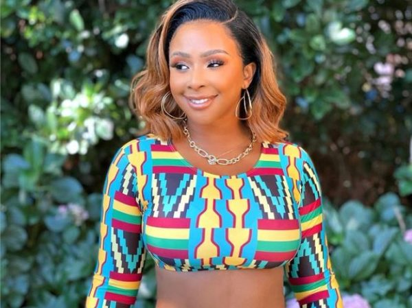 Boity claims she's set to do the #sillouettechallenge | Fans react
