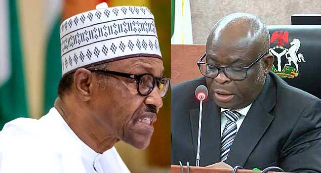 Onnoghen is changing the narrative, he was charged and convicted – Presidency