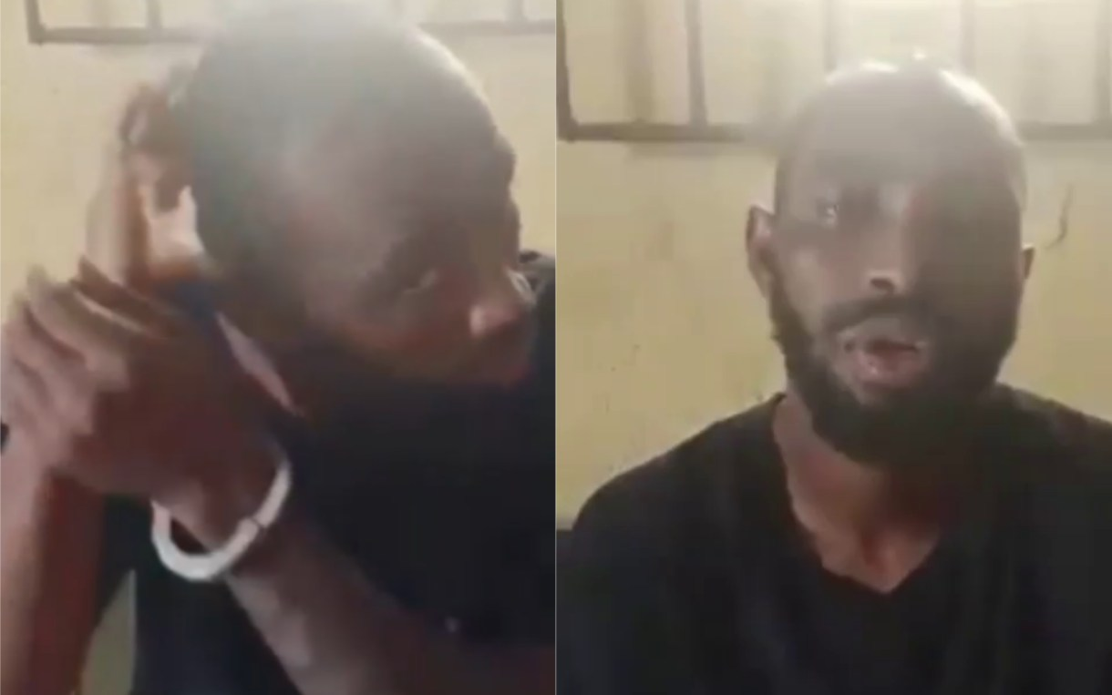 Update: Censored video of cultist beheading a rival group member in Imo