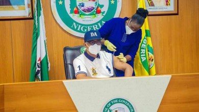 Gov Abiodun receives COVID-19 vaccine jab