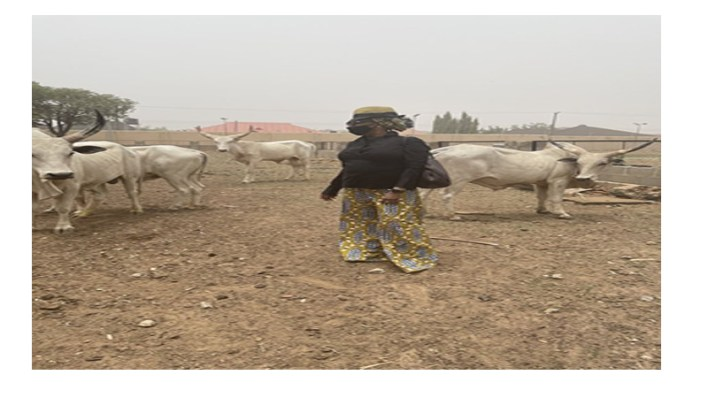 El-Rufai's wife visits farm, says my husband won't pay ransom if I'm kidnapped
