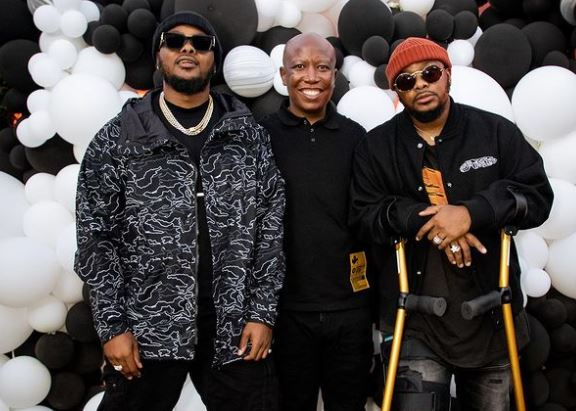 Inside Julius Malema's star-studded surprise 40th birthday party (Photos)