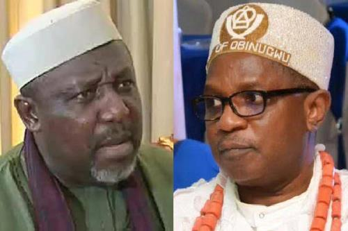 Okorocha, Imo monarch clash aboard Air Peace in Owerri