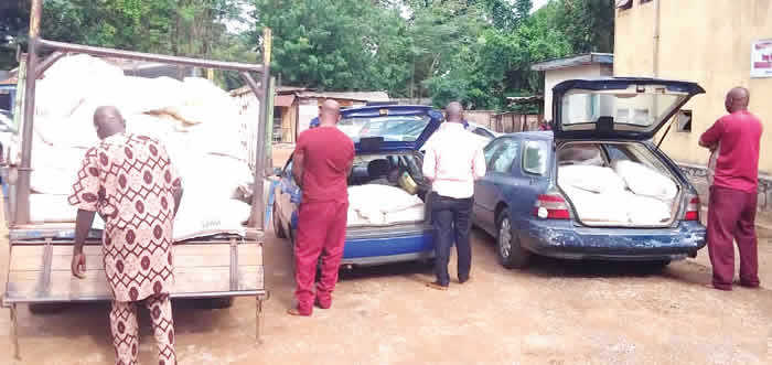 Oyo traffic wardens arrested for stealing COVID-19 palliatives