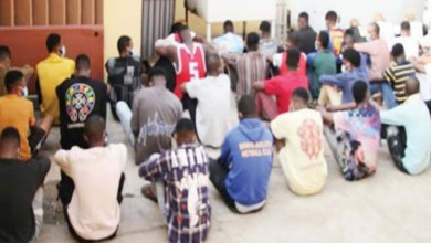 EFCC parade siblings, 35 others for Internet fraud in Ekiti