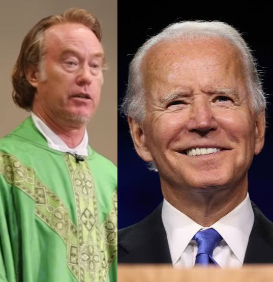 """Video: """"Over my dead body"""" will I give Joe Biden, Holy Communion unless he repents – Catholic priest"""