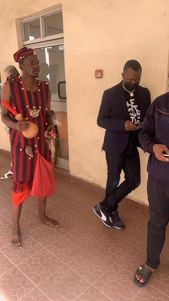 Drama as Sowore storm Abuja court with 'herbalist', posing as his body guard (PHOTOS)