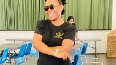 Zodwa Wabantu's 1st day at school (Photos)