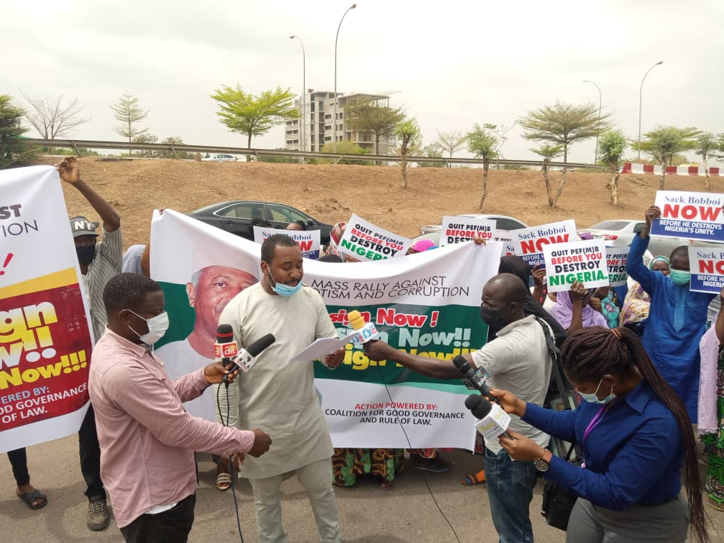 Abuse of office: Protesters want PEF boss sacked over lopsided recruitment