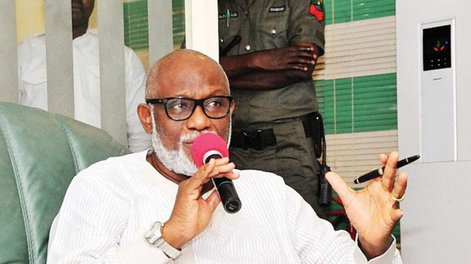 Governor Akeredolu Says State Police Will Happen Soon