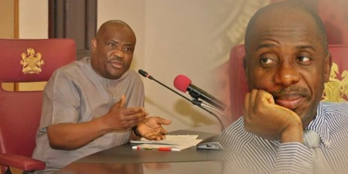Rivers Gov Wike: I made Buhari's minister, Amaechi governor