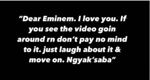 Nasty C takes back comments regarding Eminem: 'I am afraid of you'