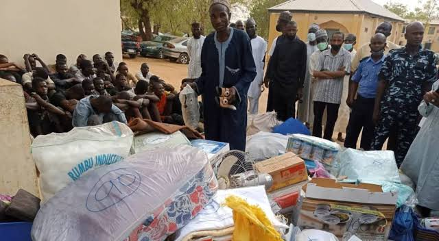 Katsina market fire: Islamic cleric, 33 others arrested for looting